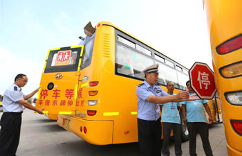 School buses safety checked in E China's Shandong
