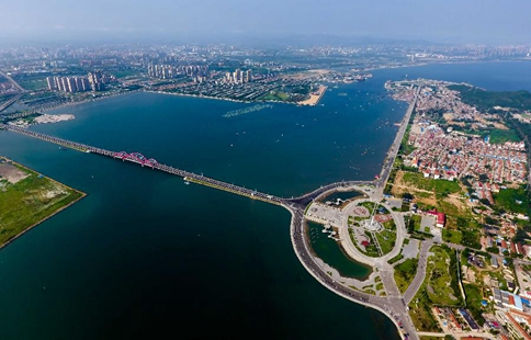 Beautiful scenery of Yangma Island in E China's Yantai