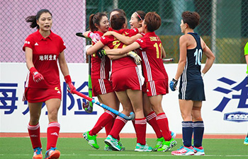 Liaoning beats Jilin 3-0 at Women's Hockey Game of 13th Chinese National Games