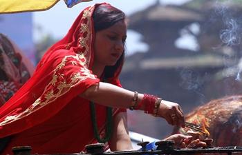 Teej Festival celebrated in Kathmandu, Nepal