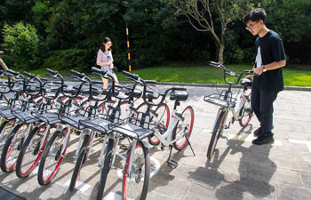 More parking spaces for sharing-bike to be built in China's Wuhan