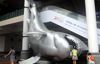 On Sharks and Humanity contemporary art exhibition opens in HK