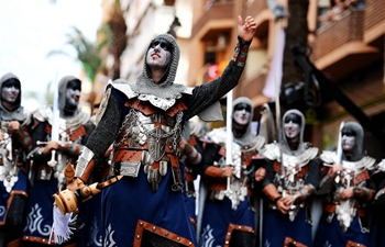 Moors and Christians Festival marked in Ontinyent, Spain