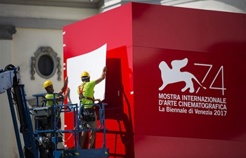 In pics: Preparation for 74th Venice Film Festival