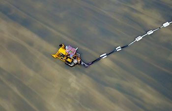 Salt fields enter into harvest season in China's Liaoning