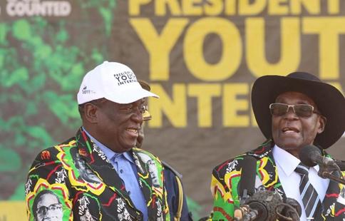 Zimbabwe VP Mnangagwa now fit and strong: Mugabe