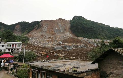 Rescue works underway in SW China landslide