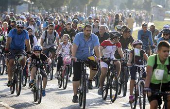 Cycling event Giro di Sarajevo held in BiH