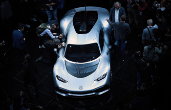 In pics: preview night of IAA motor show in Germany