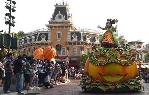 Hong Kong Disneyland to host Halloween party from Sept. 14 to Oct. 31