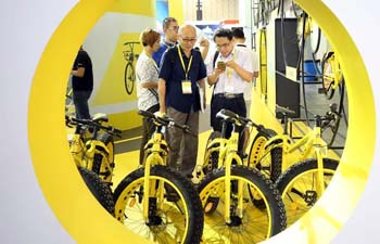 Asia Bike 2017 kicks off in E China's Nanjing