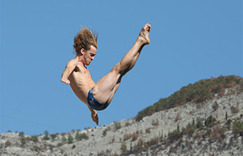Red Bull Cliff Diving World Series held in BiH
