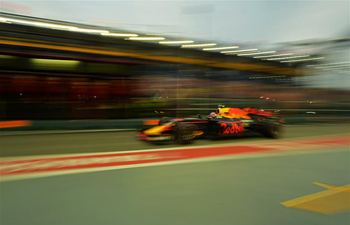 Highlights of 3rd practice session of Formula One Singapore Grand Prix