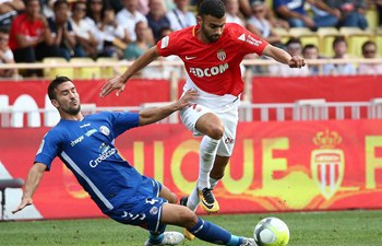 Monaco sweeps Strasbourg 3-0 in French Ligue 1