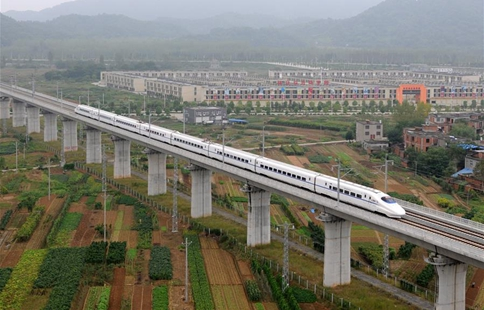 New high-speed railway line opens in China