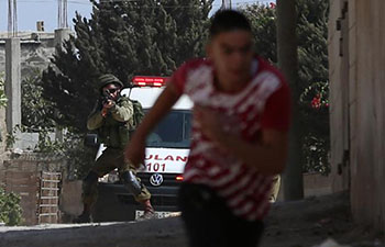 Clashes erupt between Israeli soldiers, Palestinian protesters in Nablus