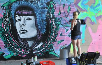 "A look at ""Meeting of Styles Houston"" graffiti festival"