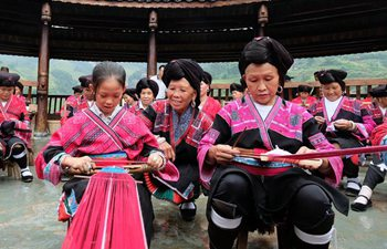 People of Yao ethnic group celebrate tourism and culture festival in S China