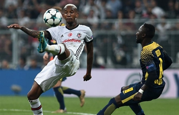 Besiktas beats RB Leipzig 2-0 in UEFA Championships League