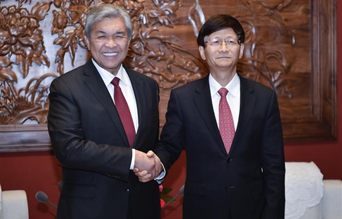 Senior official meets Malaysian Deputy PM and Interior Minister