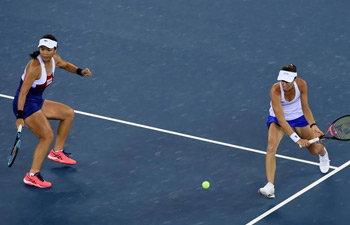 In pics: doubles semifinal at Wuhan Open