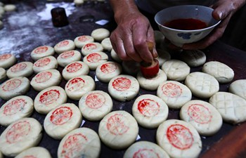 A look at special mooncakes with traditional Anhui characteristics
