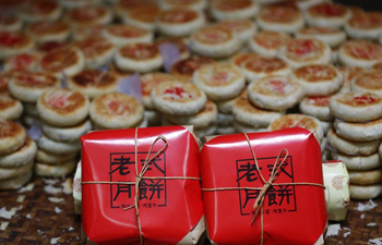 Mooncake: traditional food for Mid-Autumn Festival