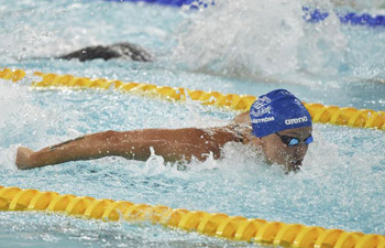 In pics: finals of FINA Swimming World Cup