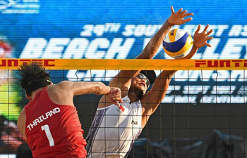 Indonesia wins men's final of SEA Beach Volleyball Championships
