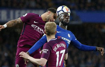 English Premier League: Manchester City beat Chelsea 1-0