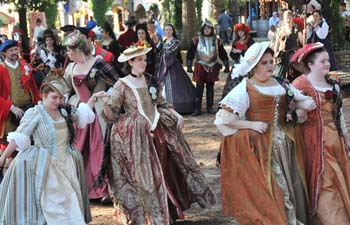 Festival in Texas brings magic of Renaissance to life
