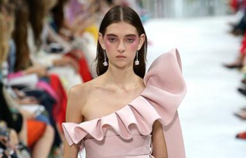 Creations of Valentino presented at Paris fashion week