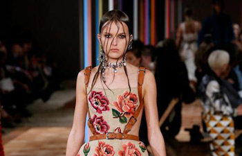 Paris fashion week: creations of Alexander McQueen