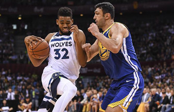 NBA preseason: Golden State Warriors vs. Minnesota Timberwolves