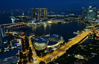 Light show to be held in Singapore's Esplanade to celebrate 15th anniv.