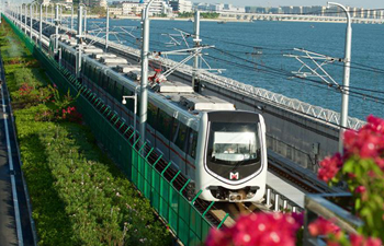Sea-view subway ends 6-day test operation in Xiamen