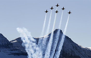 Swiss Air Force holds annual shooting in Swiss mountains