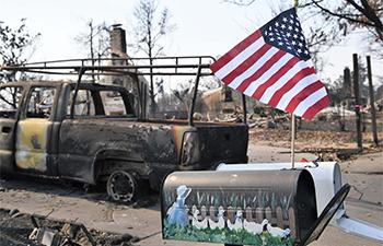 Wildfires destroy 3,500 houses in western California's Santa Rosa: mayor