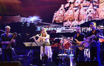 International Jazz Music Festival opens in east China's Jiangsu