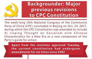 Graphics: Major previous revisions to CPC Constitution