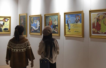 West Lake Art Fair held in China's Hangzhou