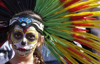 """Day of the Dead"" commemoration held in Los Angeles"