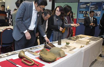 Relics, Historical Materials of Nanjing Massacre Exhibition held in Toronto
