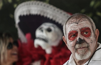 "People participates in ""Day of the Dead Feast"" in Sao Paulo, Brazil"