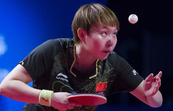 Zhu Yuling wins women's table tennis World Cup