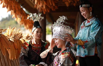 "People of Miao ethnic group celebrate ""Chixin"" festival in SW China"