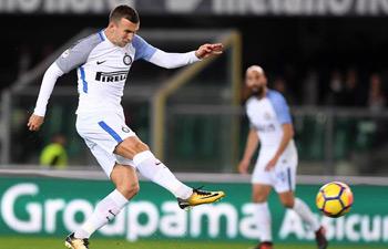 Serie A: Inter Milan beats Verona 2-1