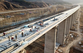 Beijing-Shenyang railway under construction to slash travel time