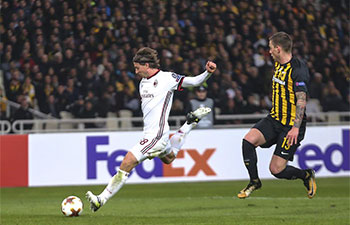 AEK draw Milan 0-0 in UEFA Europa League