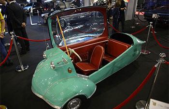 In pics: auto show in Bucharest, Romania